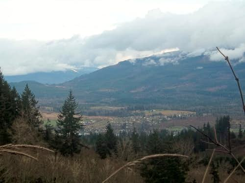 Clouds Clearing on the Cascade Front