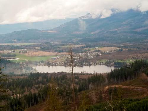 Closeup of Big Lake