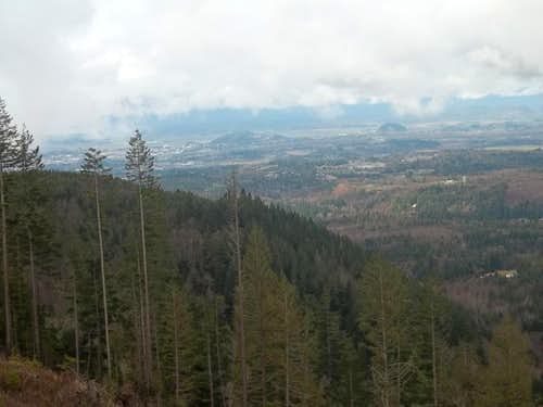 Views to the north