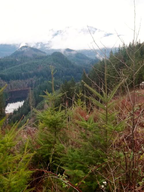 View of Devils Lake