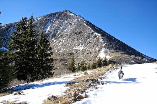 East ridge