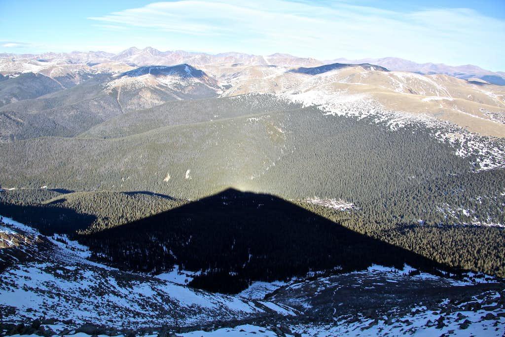Shadow of Mount Guyot