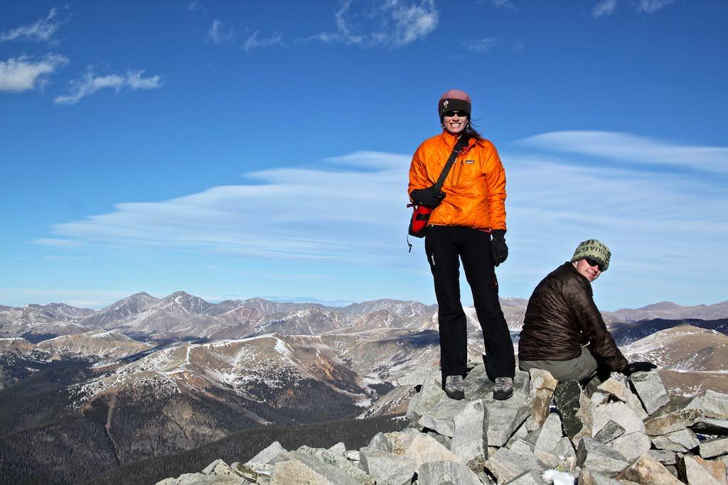Summit of Mount Guyot