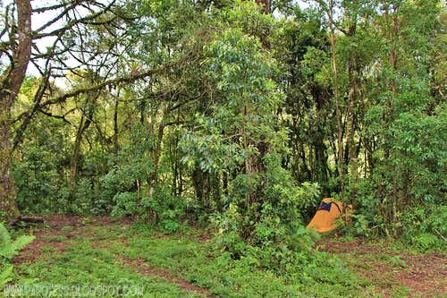 My tent, my camp