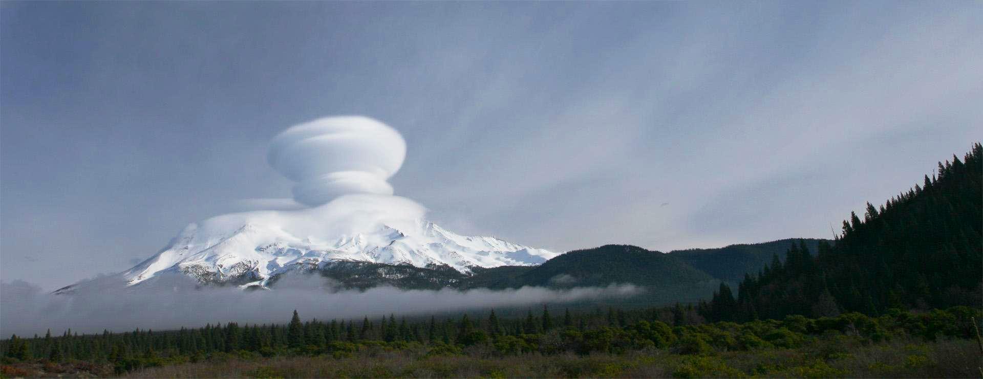 Mt Shasta lenti...