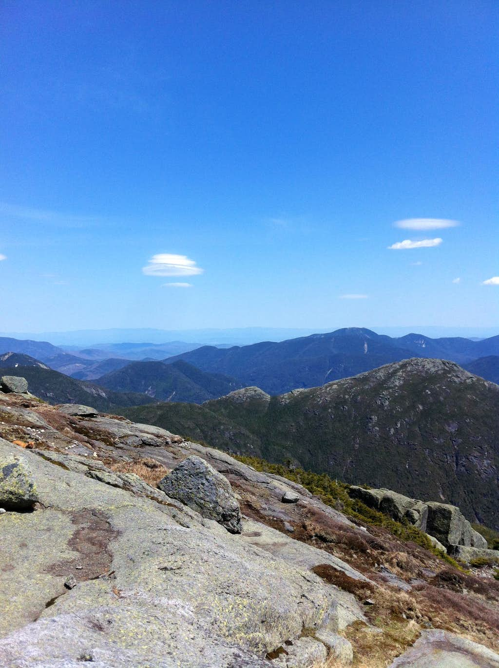 Haystack viewed from Mount Marcy