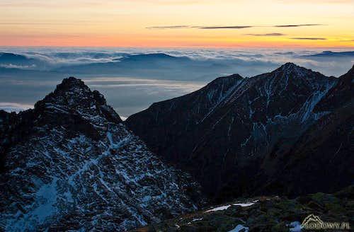 One November evening in Tatras