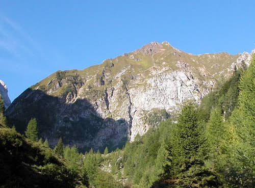 Rauchkofel as seen from the...