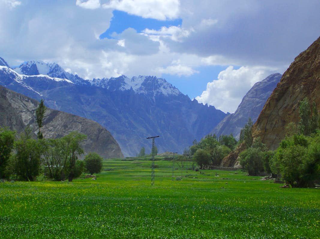 Pictures of Valleys of Pakistan Valley Skardu Pakistan