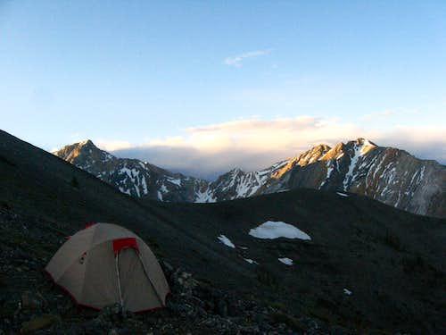 Borah Peak Bivy Site