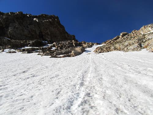 final ascent to saddle