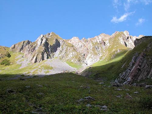 Rauchkofel (2460m). View from...