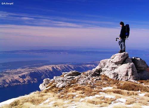 On the summit of Alancic