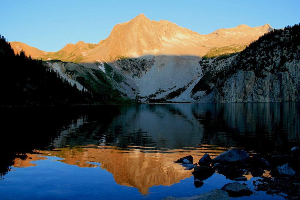 Hagerman Peak and Snowmass Mountain