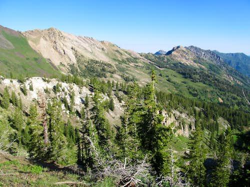 ridge from Superior to Kessler
