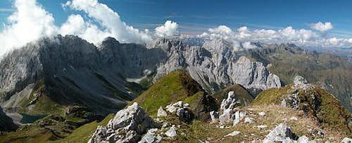 Rauchkofel summit view...