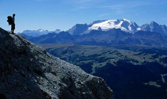The Gader valley (Val Badia)...