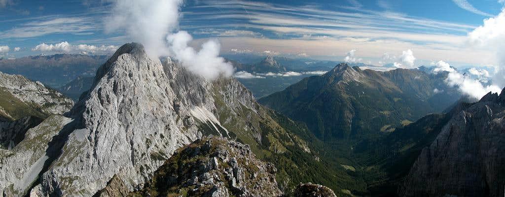 Rauchkofel summit view to the...