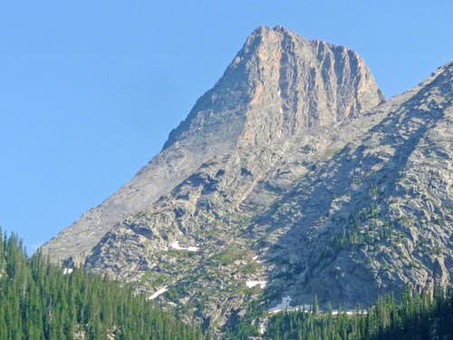 Vestal Peak from the Valley