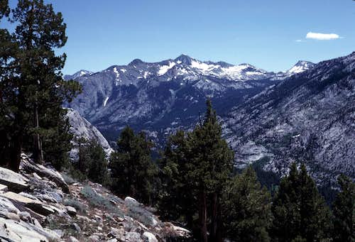 South Fork of the San Joaquin Canyon