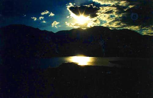 Silver Lake Sunset