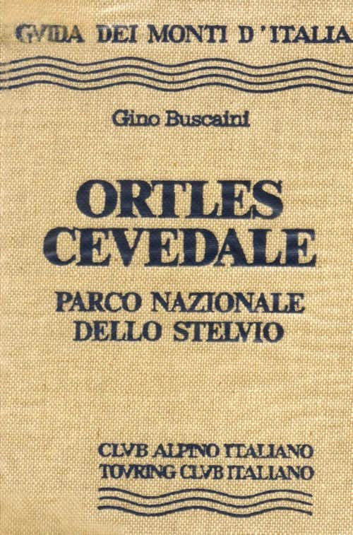 Ortles Cevedale guidebook