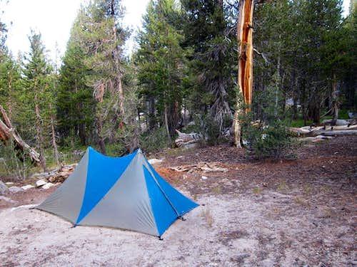 Camp on Bear Ridge