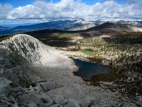 Northwest from Recess Peak