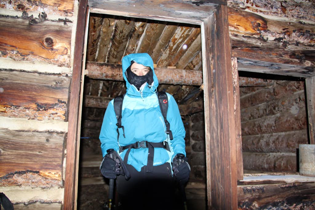 Exploring inside the cabin