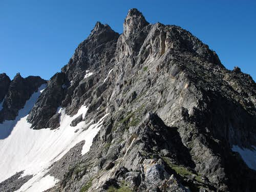 East Face of Hilgard Peak