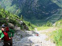 Heavens Peak gully