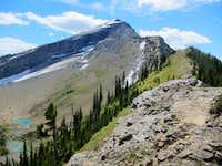 Heavens Peak north ridge