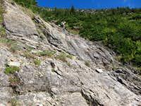 Heavens Peak north ridge gully
