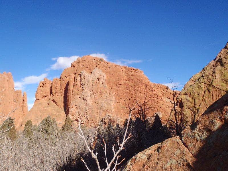 """South Gateway Rock"""
