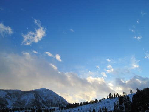 Bunsen Peak, December 17, 2012-Yellowstone National Park