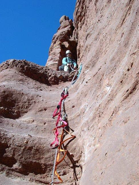 The free crux of the route: a...