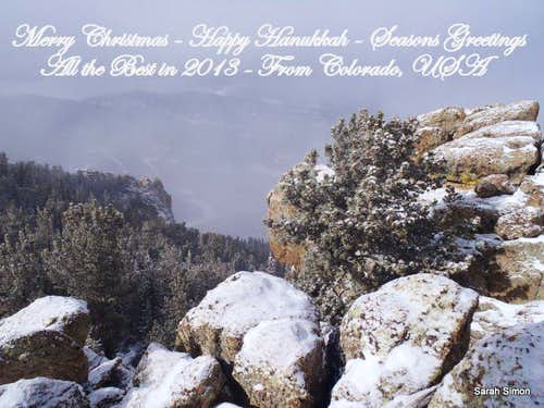 Season\'s Greetings from Colorado, USA
