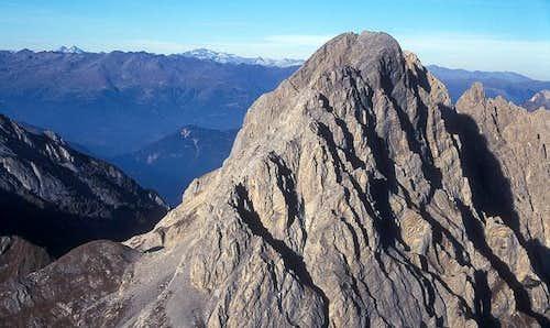 summit view from Rauchkofel...