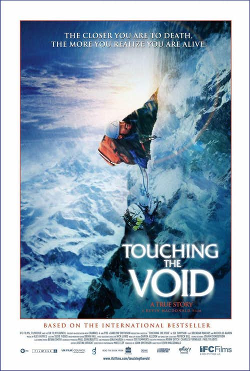 Touching the Void film poster
