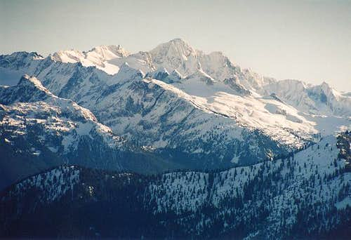 Eldorado Peak (with Backbone...