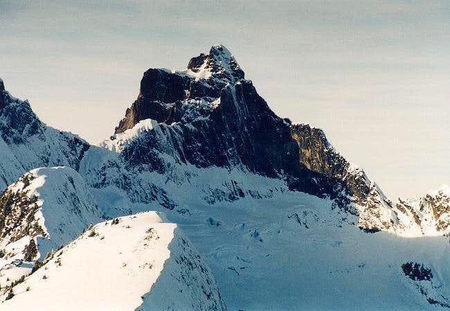Mt. Triumph in winter. Photo...
