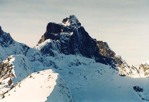 Mt. Triumph in winter. Photo...