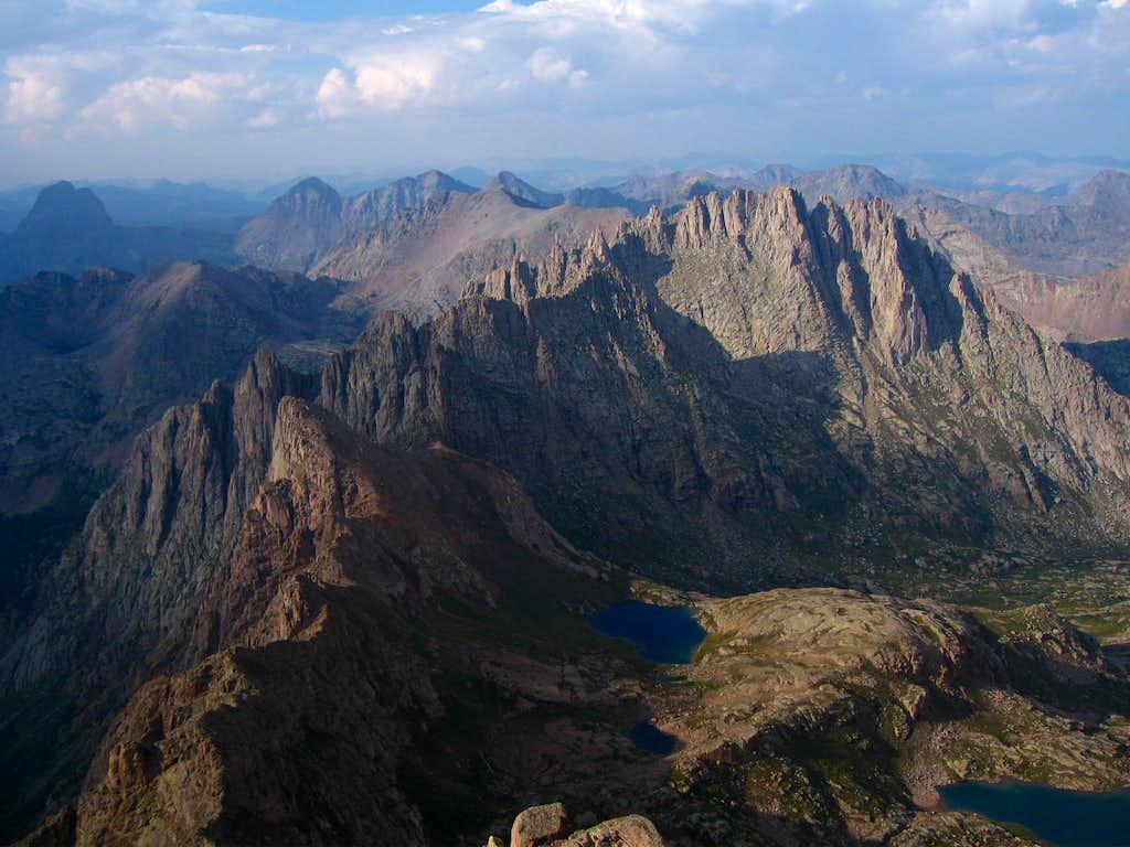 Sunlight Peak Summit view