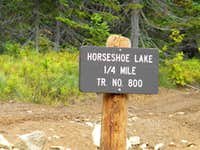 Horseshoe Lake Trailhead