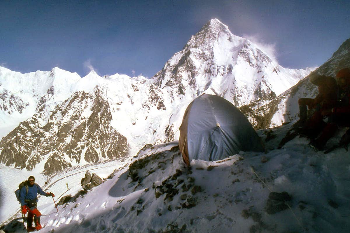 Broad Peak Camp 2 at 6450m