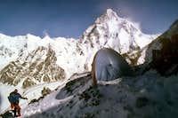 Broad Peak Camp 2 at 6450m