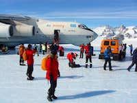 Union Glacier Arrival
