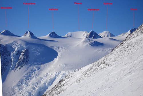 Vinson Massif From The South