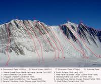 Vinson Routes