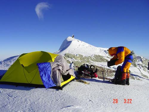 Vinson Summit Camp